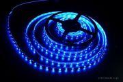 Лента светодиодная 3528B синяя в силиконе 60LED/на метр