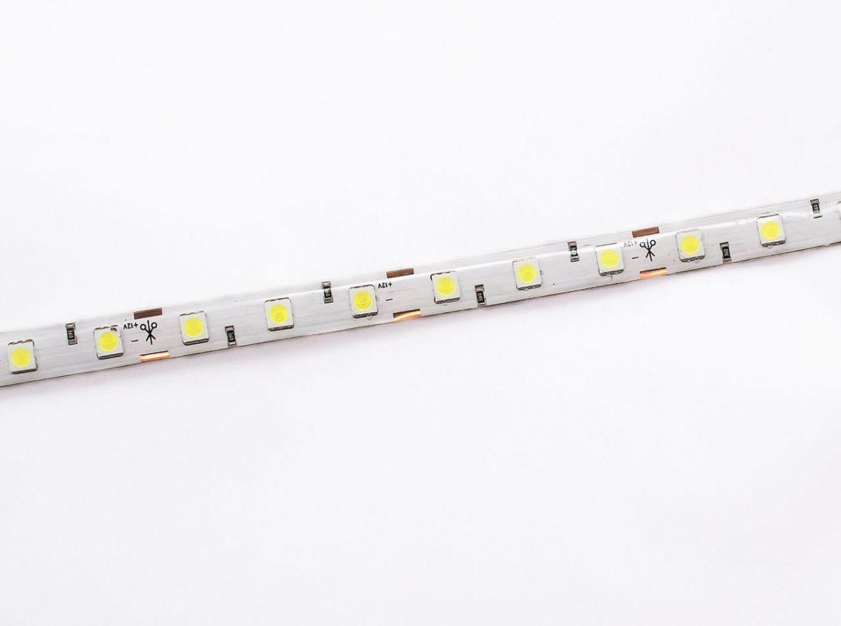 Светодиодная лента на светодиодах SMD5050 в силиконе, 60LED/m