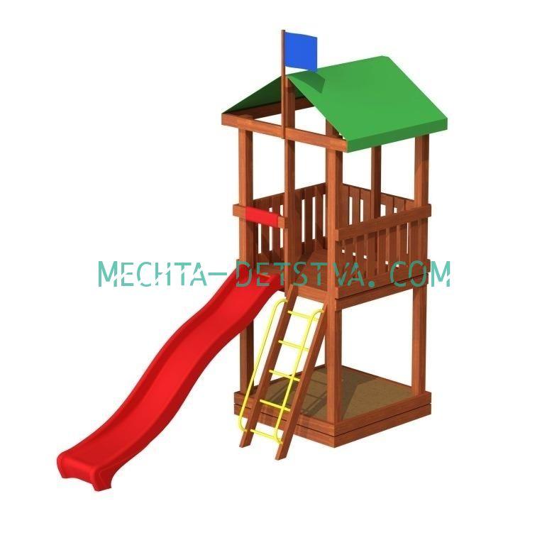 Детский городок «Джунгли 2»