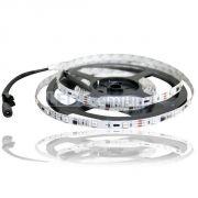Светодиодная лента на светодиодах SMD5050 30LED на метр в силиконе, с контроллером, бегущая