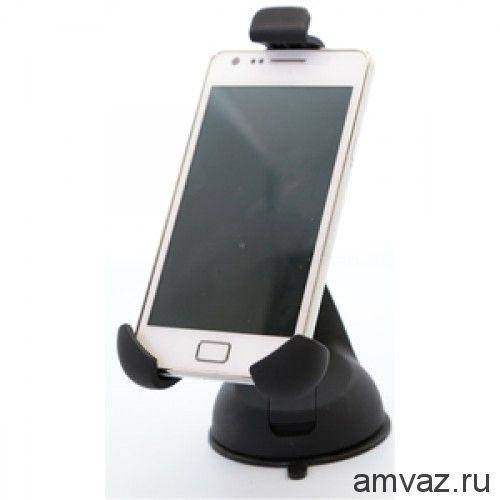 Держатель CARLINE® для телефона/смартфона на лобовое стекло на короткой штанге