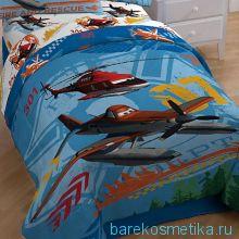 Одеяло покрывало Аэротачки 163х218 см + наволочка