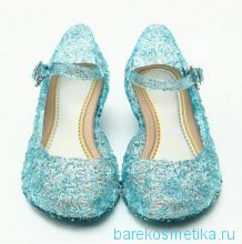 Туфли босоножки Эльзы из Холодное сердце