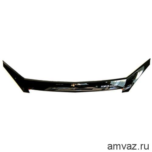 Спойлер на капот ГАЗ 31105 VORON GLASS с еврокрепежом