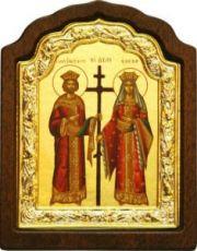 Константин и Елена (11х16), серебро