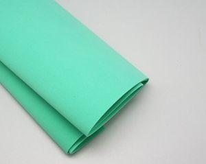 Фоамиран Иранский, толщина 1 мм, размер 60х70 см, цвет мятный (1 уп = 10 листов)