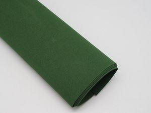 Фоамиран Иранский, толщина 1 мм, размер 60х70 см, цвет тёмно-зелёный (1 уп = 10 листов)