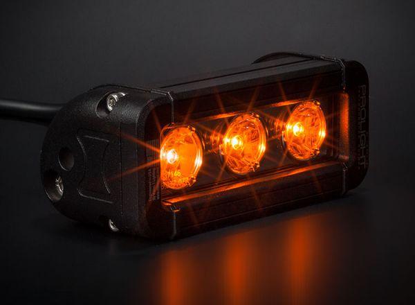 Cветодиодная фара Prolight Low Profile Color: XIL-LP360A янтарный свет