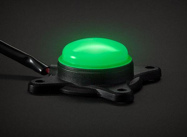 Cветодиодная фара Prolight Pro Pods: XIL-PDG зеленый свет