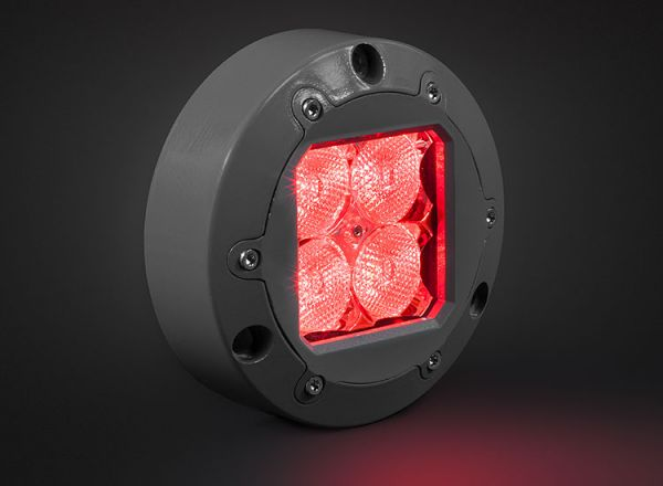 Cветодиодная фара Prolight Subaqua: XIL-U41R красный свет