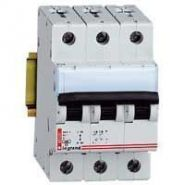 Автом. выкл. Legrand 3-пол. 25A -3М(тип C)