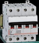 Автоматический выключатель Legrand 4-полюсный 50A -4М(тип C)