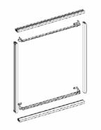 Устройство для монтажа панелей в шкаф ABB 2/8 W