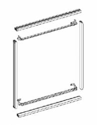 Устройство для монтажа панелей в шкаф ABB 3/8 W