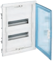 Шкаф распределительный Legrand Nedbox 1х12+2М прозр.