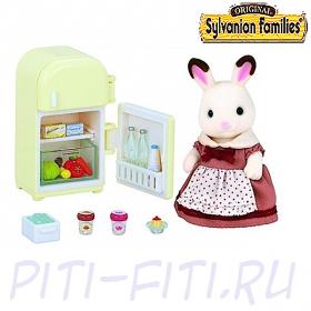 """Sylvanian Families. Набор """"Мама кролик и холодильник"""""""