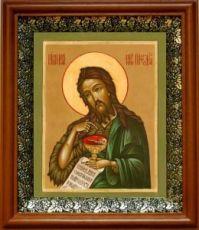 Иоанн Предтеча (19х22), светлый киот