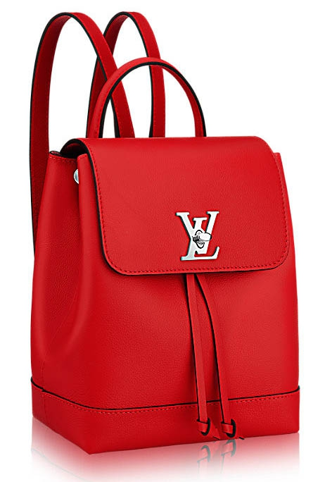 Рюкзак Louis Vuitton Lockme Backpack poppy красный