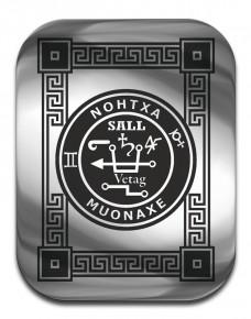 """Магическая карта """"Талисман для удачи в торговле"""", 90х57 мм, сталь с покрытием"""