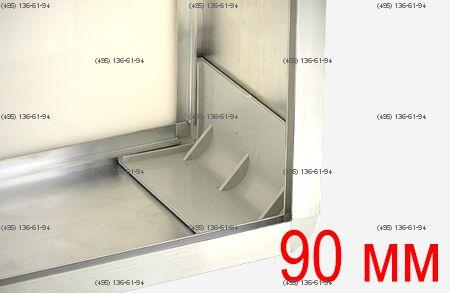 Уголок для профиля 90 мм пластик цвет светло-серый