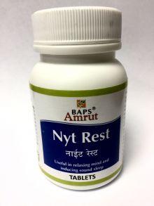 Baps Amrut Nyt Rest.60 таб*500мг Тревога стресс
