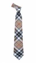 Истинно шотландский клетчатый галстук 100% шерсть , расцветка клан Томсон ( вариант кэмэл)