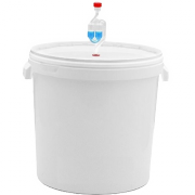 Ёмкость для брожения с гидрозатвором на 30 л.