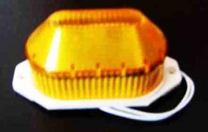 LED-строб накладной, желтый