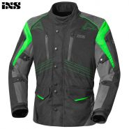 Куртка IXS Tarel, Чёрно-зелёная
