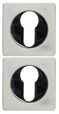 Накладка под цилиндр ET02D-матовый никель