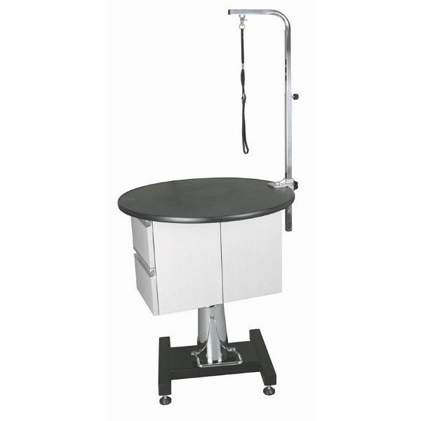 Стол Toex FT-805С круглый для груминга, гидравлический