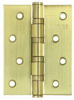Петля универсальная врезная 4BB-SB 100.75.2.5 матовое золото