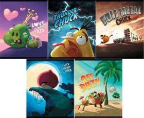 """Тетрадь 48 л. А5 клетка """"Angry Birds - Выпуск №6"""" (арт. 12783)"""