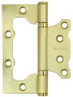 Петля без врезки 2BB-SB 100.75.2.5 матовое золото