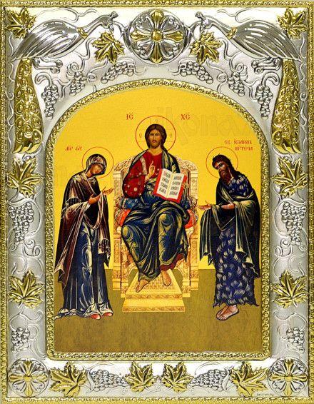 Царь Царем (14х18), серебро