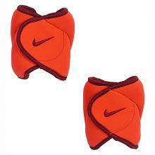 Утяжелители для ног Nike Ankle Weights 1,13 кг оранжевые