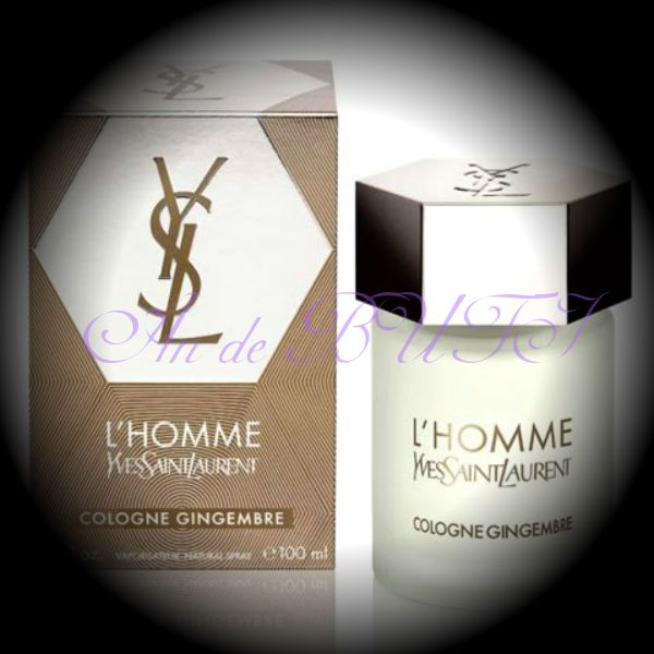 Yves Saint Laurent L'Homme Cologne Gingembre 100 ml edt
