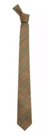 Узкий шотландский твидовый галстук 100% шерсть , расцветка Минто Minto Skinny Tie