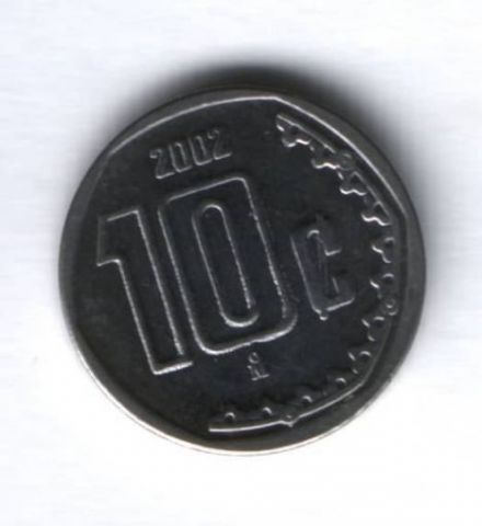 10 сентаво 2002 г. Мексика