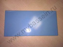 Плитка глазурованная голубая