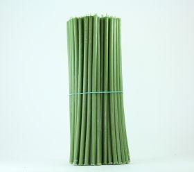 Свечи церковные восковые (Зелёные) № 20, 2 кг. Длина 30 см, диаметр 9,5 мм. 100 штук/пачка