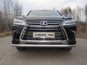 Защита переднего бампера  76.1 мм для Lexus LX 2015 -