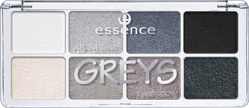 Тени для век Essence All about Greys
