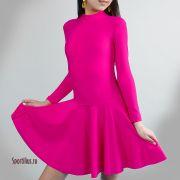 платья для спортивных бальных танцев для девочки