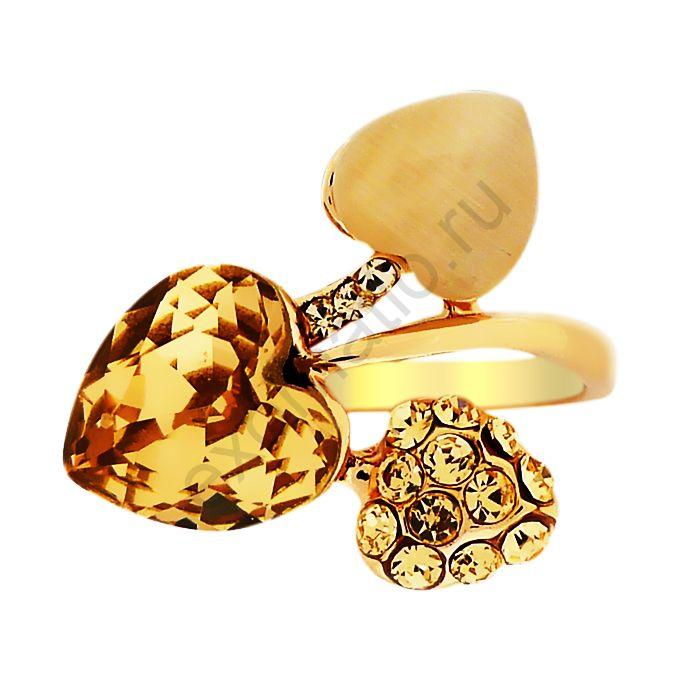 Кольцо Tutti Frutti 33933-9529. Кольцо Сердечки