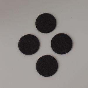 Фетровые пяточки 25мм, цвет № 55 темно-серый