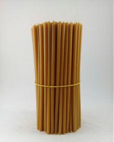 Свечи церковные восковые № 60, 1 кг. Длина 20 см, диаметр 6,8мм. 150 штук/пачка