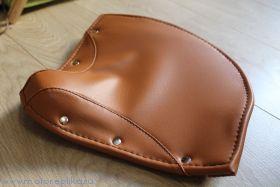 Кожа седла Минск М1М светло-коричневая