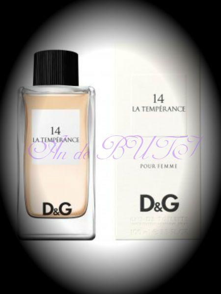 Dolce & Gabbana D & G Anthology La Temperance 14 100 ml edt