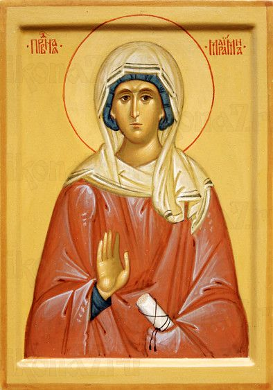 Мариамна Праведная (рукописная икона)